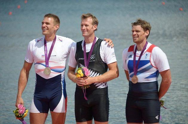 Na olympijských hrách v Londýně Ondřej Synek obhájil stříbro, o zlato jej připravil Novozélanďan Mahe Drysdale.