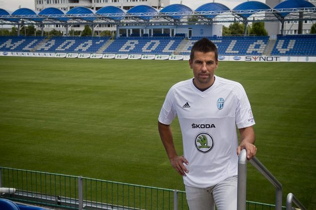 Nová posila Mladé Boleslavi, útočník Milan Baroš.