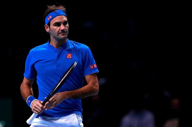 Roger Federer fought for the opportunity to get out of the band