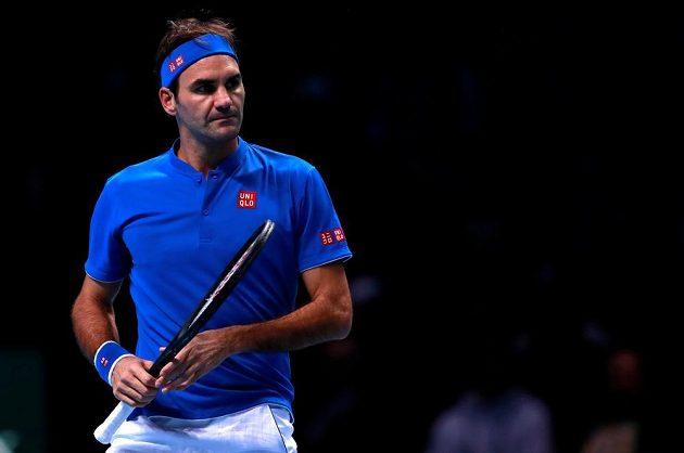 Roger Federer bojoval o šanci na postup ze skupiny