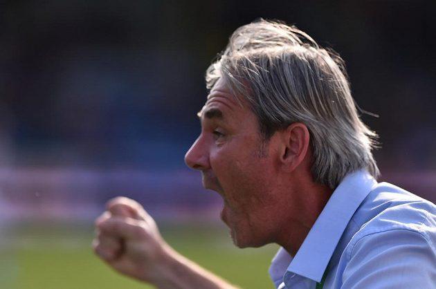 Reakce trenéra Karviné Lubomíra Vlka po vítězném gólu.
