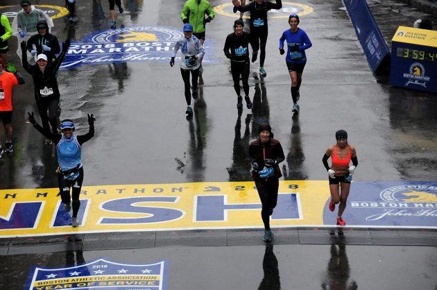 Boston Marathon: Konečně v cíli.