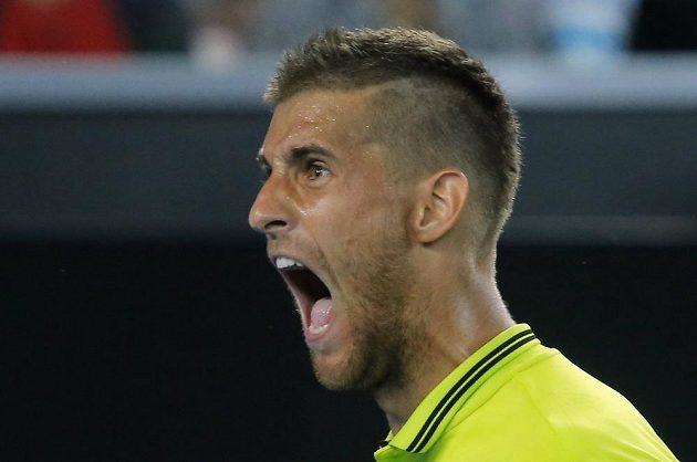 Martin Kližan na Australian Open, tenis jsou někdy velké emoce.