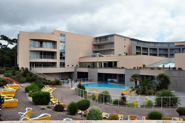 Hotel ve francouzském Mouilleron-le-Captif, kde jsou ubytovány české basketbalistky na mistrovství Evropy.