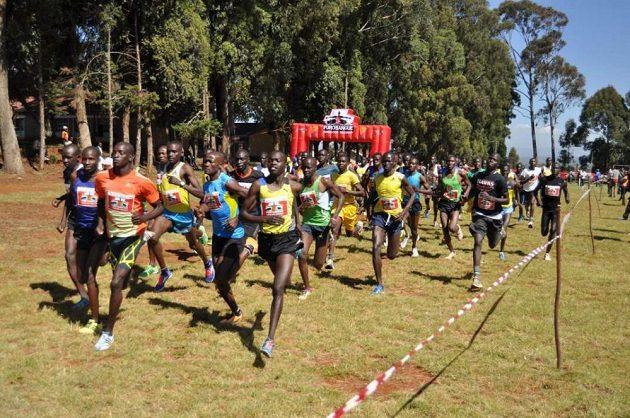 Zájem o běhání je v Keni obrovský.