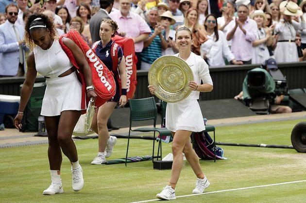 Simona Halepová nedala ve finále Williamsové šanci