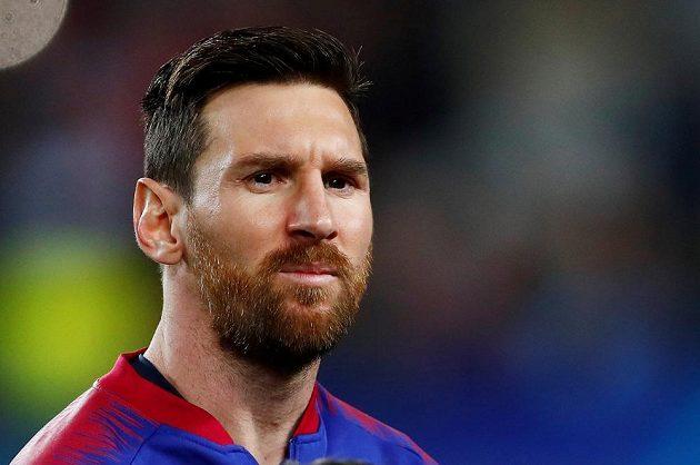 Barcelonský Lionel Messi opět nezklamal. Proměnil penaltu a katalánský gigant vedl v Lize mistrů nad Lyonem.