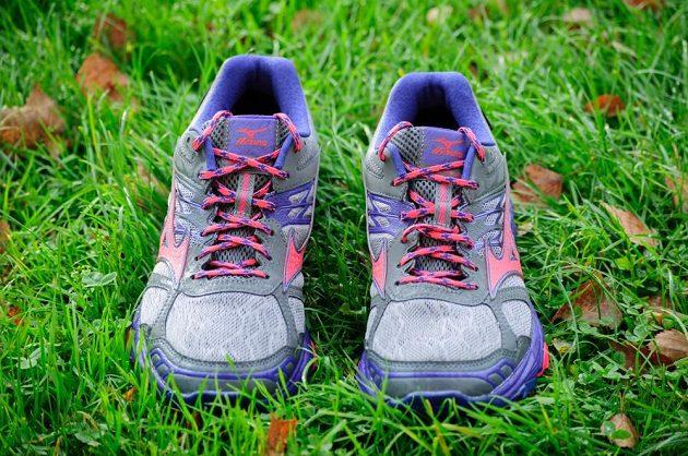Trailové běžecké boty Mizuno Wave Mujin 4 G-TX: pohled zpředu.