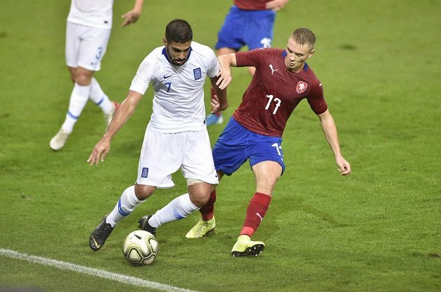 Zleva Jorgos Ntaviotis z Řecka a Jan Matoušek z České republiky.