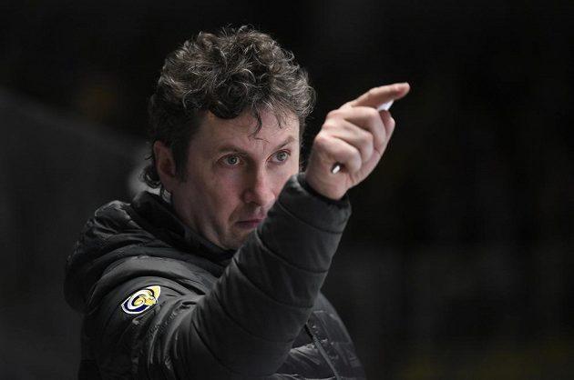 Trenér hokejového Zlína Robert Svoboda.