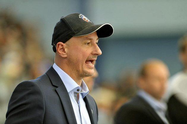 Trenér plzeňských hokejistů Michal Straka.