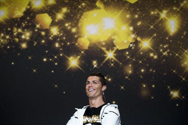 Cristiano Ronaldo ještě před vyhlášením Zlatého míče FIFA 2014.