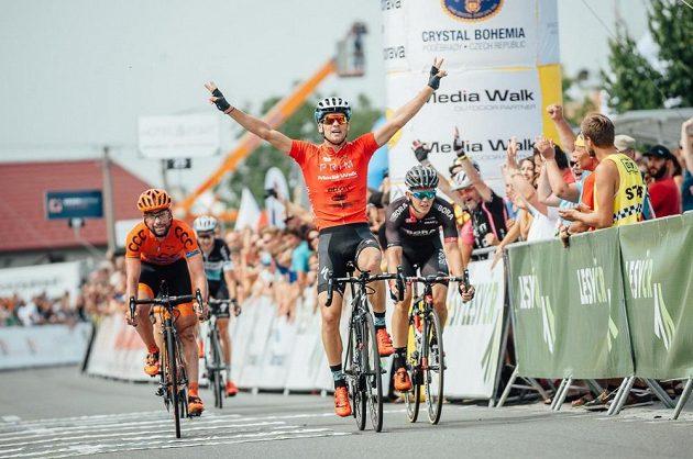 Zdeněk Štybar a jeho vítězný triumf v závěrečné etapě Czech Cycling Tour.