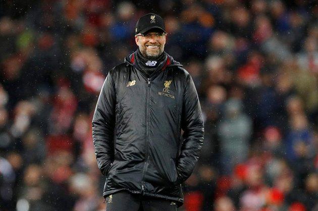 Trenér Liverpoolu Klopp před zápasem s Bayernem
