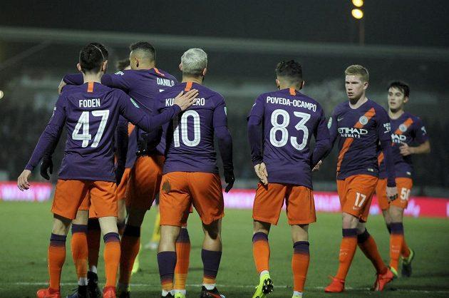 Fotbalisté Manchesteru City zvítězili v odvetě semifinále Ligového poháru 1:0 na hřišti třetiligového Burtonu a mohli slavit postup.