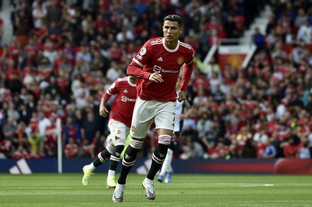 Manchester United vytáhl do zápasu s Newcastlem v Premier League eso v podobě Cristiana Ronalda.