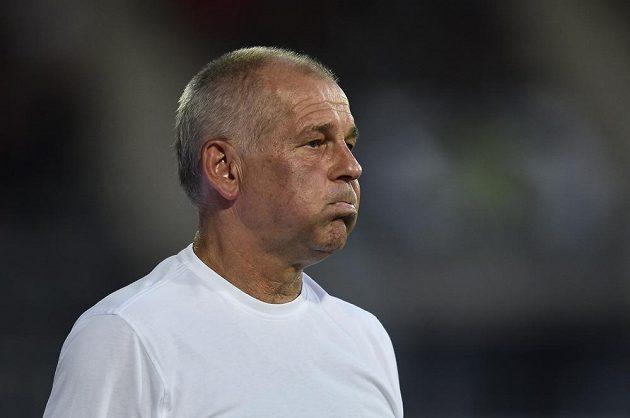 Jablonecký trenér Petr Rada nemohl být s výsledkem zápasu spokojen