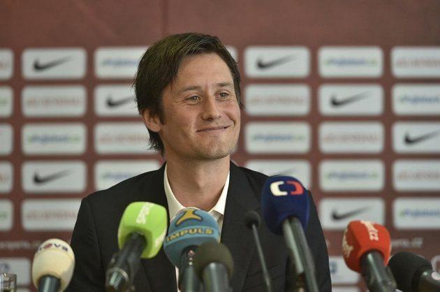 Nová posila fotbalové AC Sparty Tomáš Rosický.