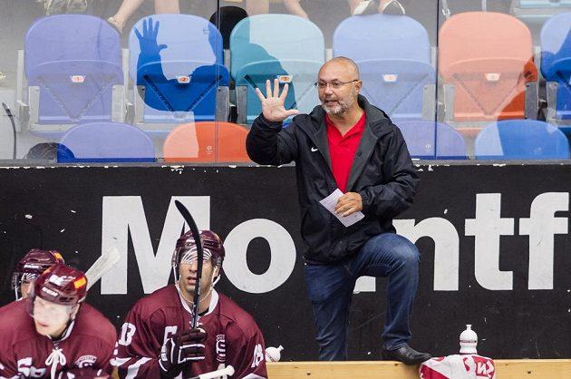 Trenér hokejové Sparty Jiří Kalous.