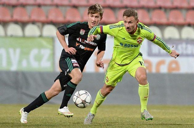 Příbramský mladík Jan Makoš (vlevo) a Fedor Čalov z Moskvy.