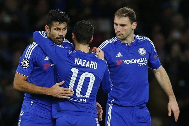 Radost fotbalistů Chelsea.
