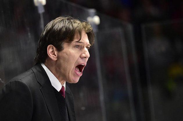 Trenér hokejové Sparty Uwe Krupp.