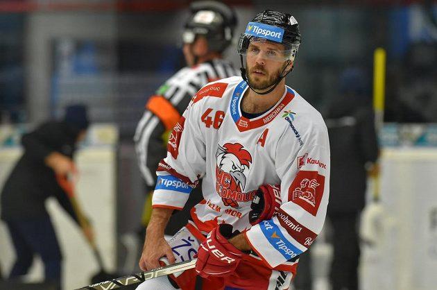 David Krejčí z Olomouce přiutkání s Kladnem.