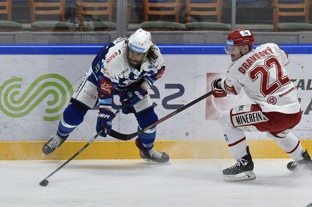 Zleva Peter Mueller z Brna a Vladimír Dravecký z Třince.