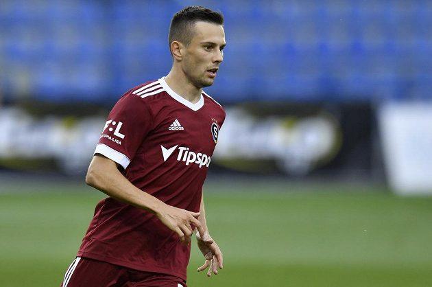 Autor prvního góluJakub Pešek ze Sparty, který hrál loňskou sezónu ve dresu Liberce.