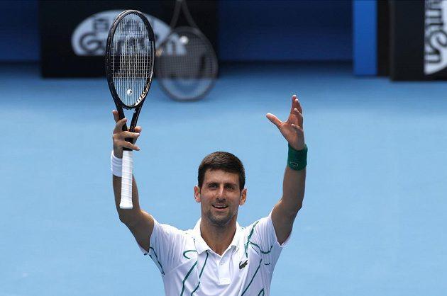 Djokovic si znovu zahraje grandslamové čtvrtfinále