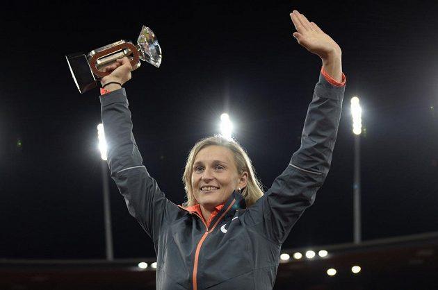 Oštěpařka Barbora Špotáková triumfovala v Curychu a ovládla Diamantovou ligu.