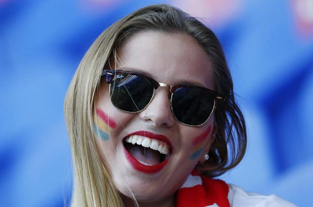 Fanynka portugalských fotbalistů byla s vystoupením Seleção nadmíru spokojená.