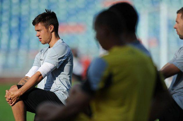 Sparťanský útočník Václav Kadlec na v Göteborgu před odvetou 2. předkola Evropské ligy s BK Häcken.