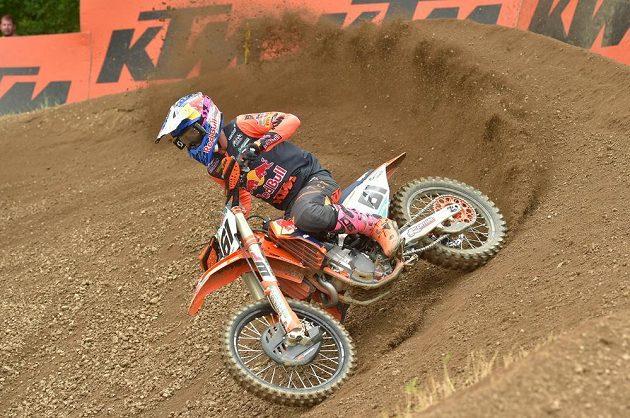 Jorge Prado ze Španělska vyhrál Velkou cenu České republiky, závod MS v motokrosu.