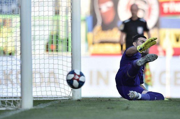 Florin Nita byl proti Mešanovičově penaltě bez šance
