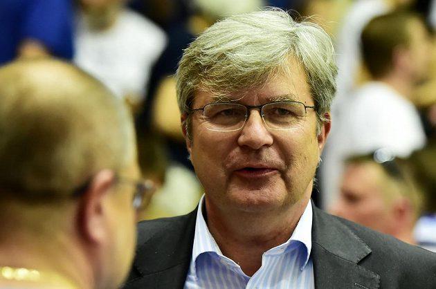 Miroslav Jansta při finále oznámil, že končí jako prezident nymburského basketbalového klubu.