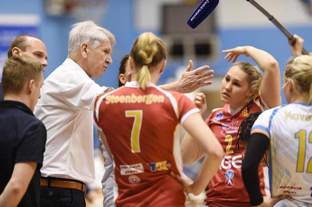 Hlavní trenér volejbalistek Prostějova Miroslav Čada.