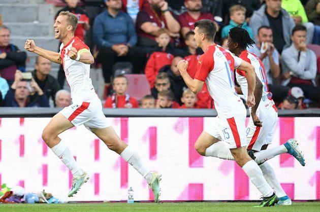 Tomáš Souček proměnil v derby penaltu.