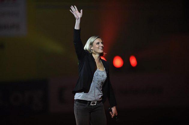 Oštěpařka Barbora Špotáková nechyběla na slavnostním zahájení halového mistrovství Evropy v atletice.