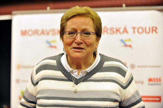 Miloslava Rezková-Hübnerová na archivním snímku z 26. ledna 2013.