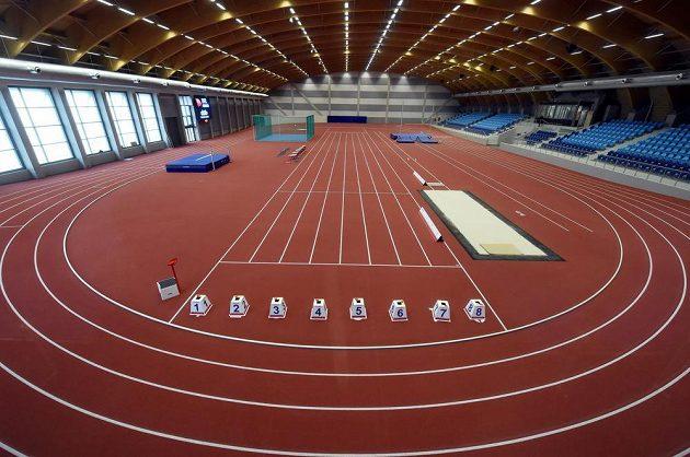 Mapu ostravských sportovišť rozšířila nová atletická hala ve Vítkovicích (na snímku).