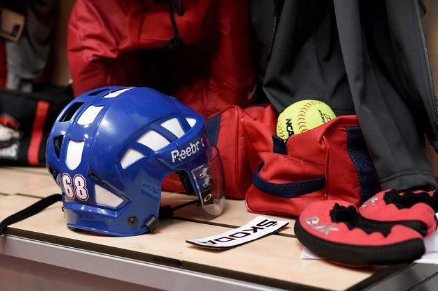 Místo Jaromíra Jágra v kabině české hokejové reprezentace.
