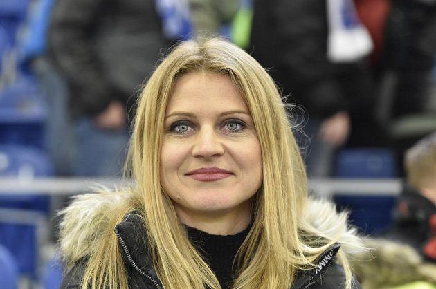Zápas sledovala bývalá tenistka Lucie Šafářová, přítelkyně útočníka Komety Tomáše Plekance.