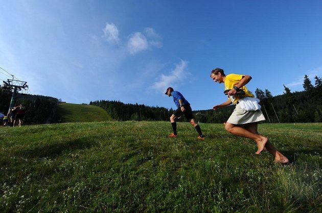 Je to opravdu horský maratón. Nějaká ta sjezdovka na vyběhnutí se vždycky najde.