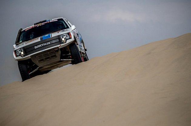 Boris Vaculík ze stáje BARTH Racing při Rallye Dakar 2018