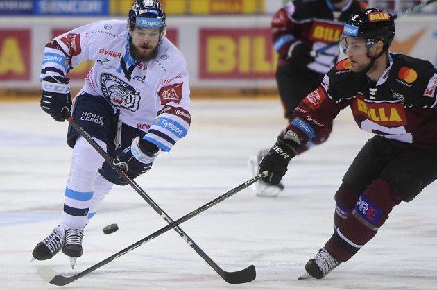 Hokejisté Sparty bojují v semifinále play off hokejové Tipsport extraligy s Libercem.