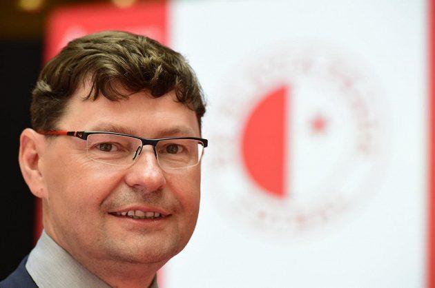 Nový generální ředitel Slavie Martin Krob.