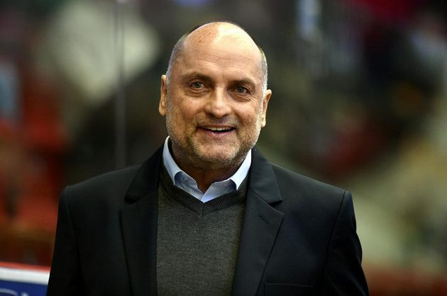 Nový trenér hokejistů Hradce Králové Vladimír Kýhos.