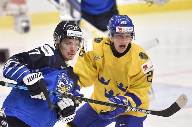 Zleva Kristian Tanus z Finska a Karl Henriksson ze Švédska.