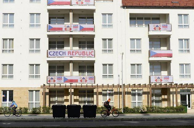 Český olympijský dům v olympijské vesnici v Soči.